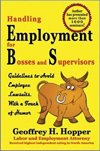 Book Handling Employment Law for Bosses and Supervisors